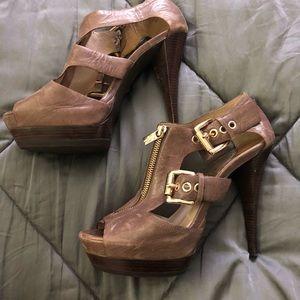 Michael Kors stiletto sandals size 8.5.